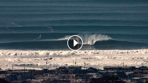 PUMPING surf Ocean Beach San Fransisco Dec 4 2020