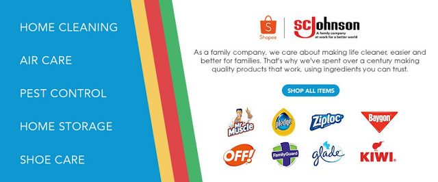 Protection Begins At Home - Catch SC Johnson at the Shopee 8.8 Flash Sale!