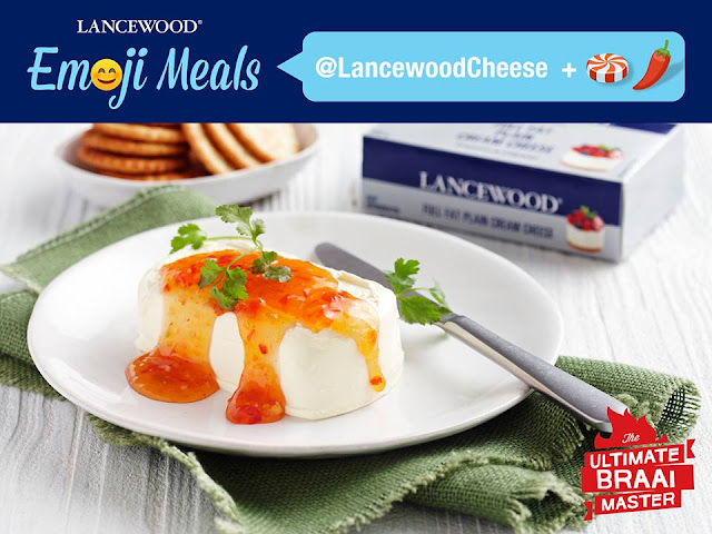 Top LANCEWOOD Full Fat Plain Cream Cheese with sweet chilli sauce