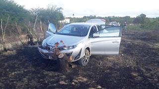 Policia recupera veículo tomado em assalto na Cerâmica Umburanas, zona rural de Picuí