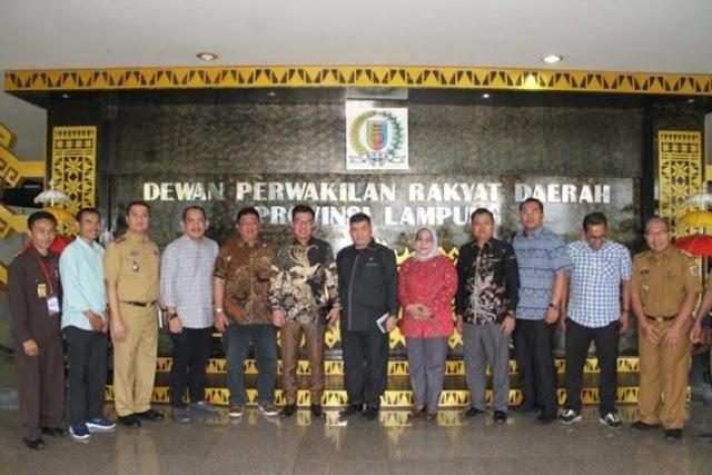 DPRD Provinsi Lampung Terima Kunker dari Jabar, Sumsel, Muba, dan Mesuji