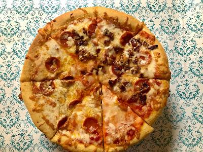 Easy simple best homemade garlic pizza dough crust recipe