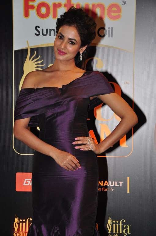 Sonal Chauhan posted on Twitter Last night for IIFAUtsavam Wearing Mayyurrgirotra and GBTBeTrue jewellery Styled by geetikachadha