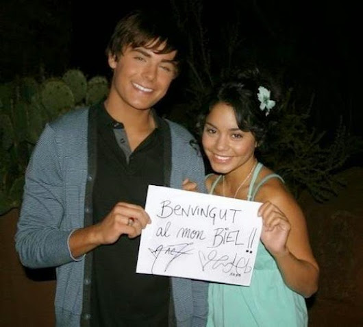 rare photo of Zac Efron and Vanessa Hudgens You Didn't Know Existed