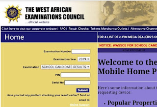 2019 May/June WASSCE/WAEC Result Is Out – See How To Check