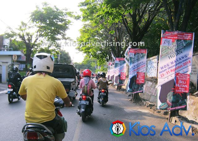 Jasa Pasang Vertikal banner Malang Sigura-gura