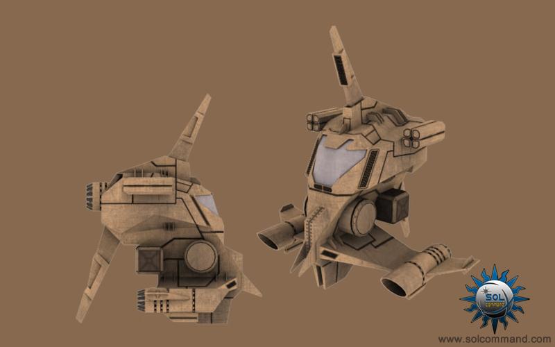 Bom interceptor space ship 3d model free download smuggler mercenary pirate fighter attack rival police transport speed