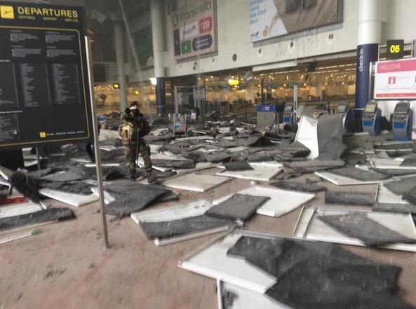 Lagi Letupan Gegar Lapangan Terbang di Belgium