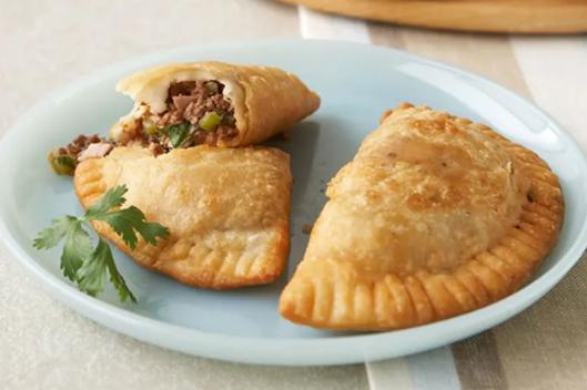 Cheesy Ground Beef Empanadas #dinnerrecipe #food #amazingrecipe #easyrecipe