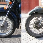 comparing Dnepr and Ural wheel hubs