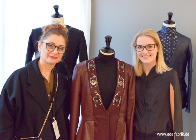 Leonie Mergen auf der Berlin Fashionweek im Januar 2017