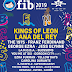 Nuevas confirmaciones del FIB 2019 -  Kings of Leon, Franz Ferdinand, George Ezra o Jess Glynne entre los confirmados