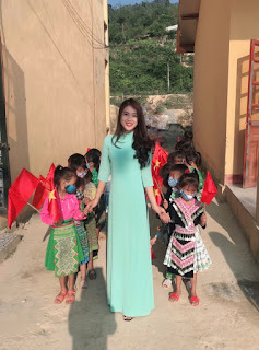 Tâm sự của cô giáo rời thành phố, lên bản dạy học