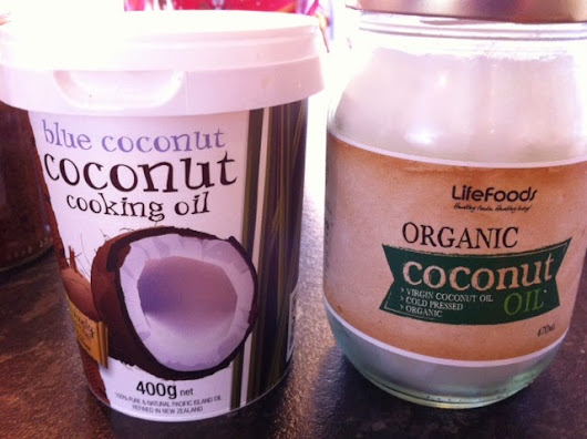 Found nice Coconuts oil ココナツオイル