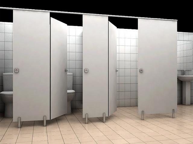 Tấm vách ngăn vệ sinh Compact cho nhà vệ sinh thật độc đáo và thuận tiện nhất
