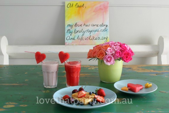 valentine's day recipe diy smoothie french toast diy art healthy kids food