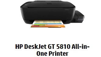 HP DeskJet GT 5810 Driver Downloads - Drivers & Software Download