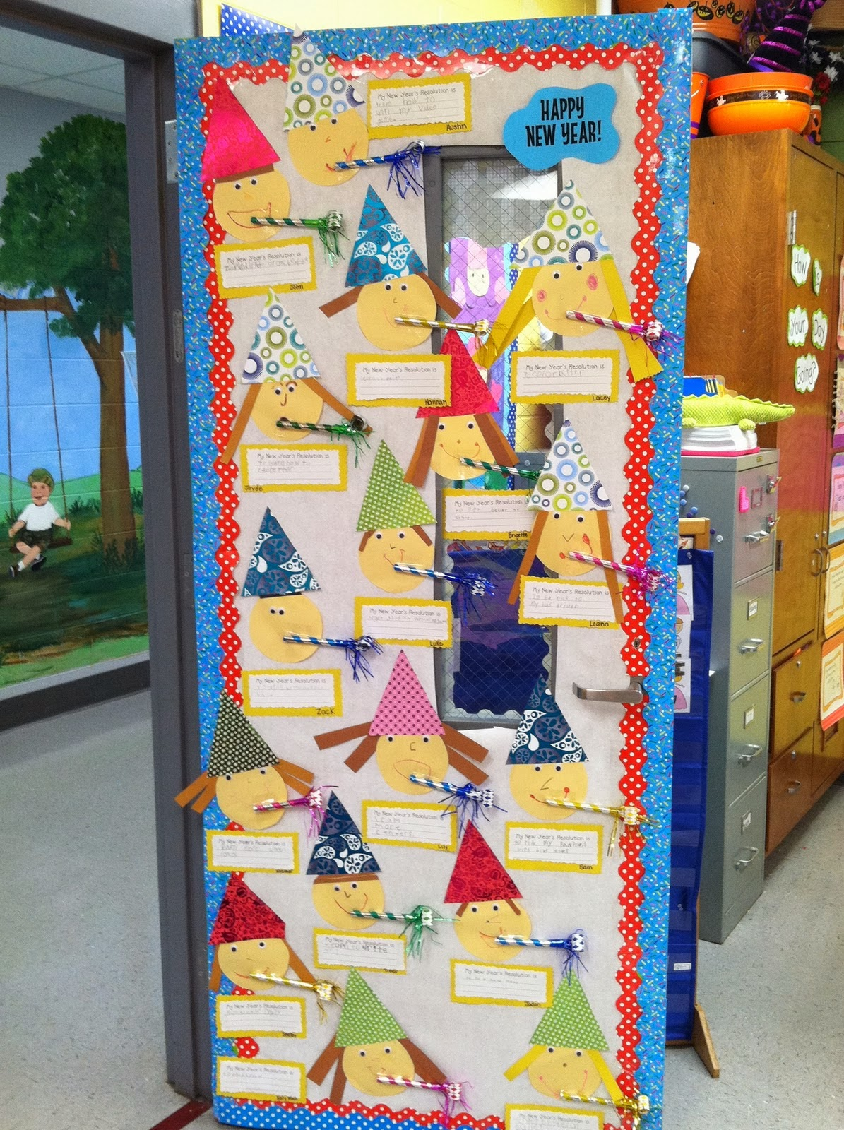 Life In First Grade New Year S Resolutions Activity And