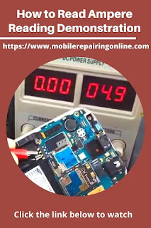 how to read Ampere Reading on DC Power Supply