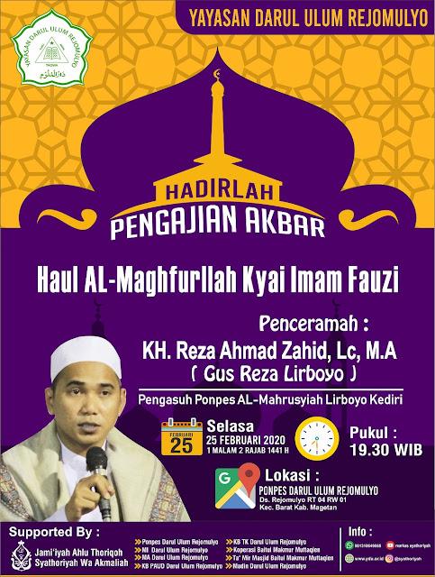 Pengajian Akbar Haul Kyai Imam Fauzi