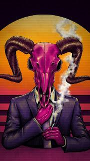Devil Skull Mobile HD Wallpaper