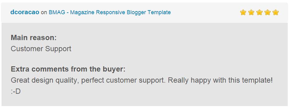 BMAG - Magazine Responsive Blogger Template - 17