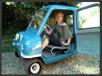 Ini Dia Mobil Resmi Terkecil di Dunia