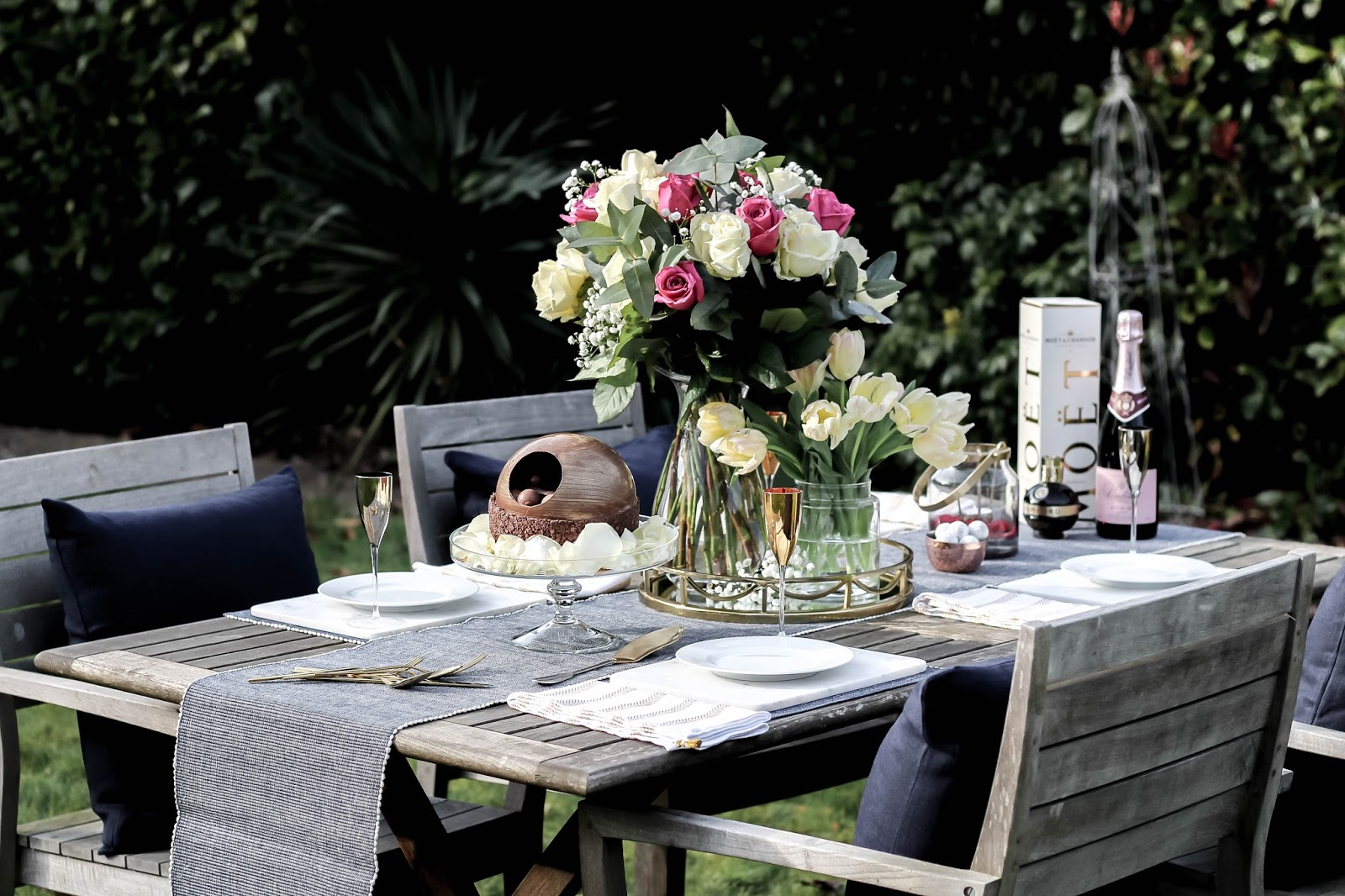 Mother's Day Spring Table Setting Lifestyle Blogger