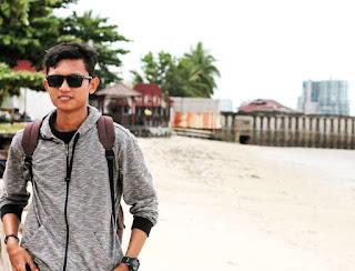 Saya di Pantai Monpera Balikapan