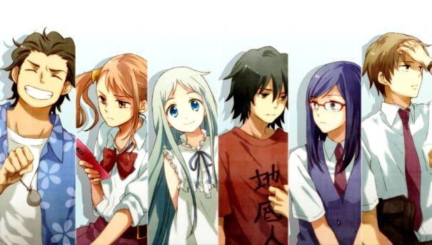 5 Rekomendasi Anime Bikin Baper Menguras Air Mata - anohana