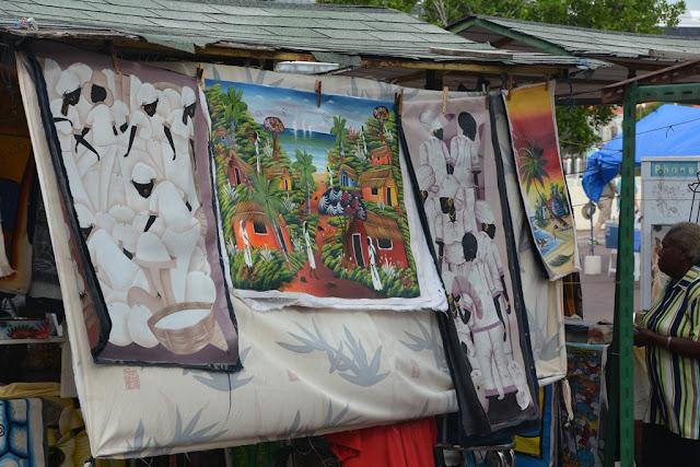 Willemstad Curacao art
