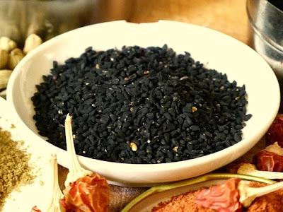 Ägyptische Gewürze Schwarzkümmel