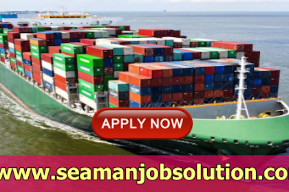 Elect, Bosun, AB, O/S, Fitter, Oiler, Cook For Container Vessel