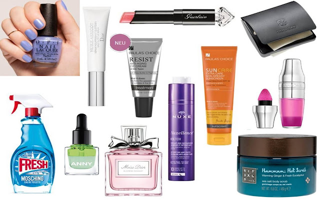 My Beauty-Wishlist - Frühling 2016