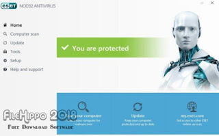 ESET NOD32 Antivirus 2018 Download for PC