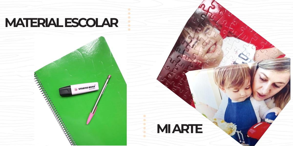 MATERIAL ESCOLAR&MI ARTE