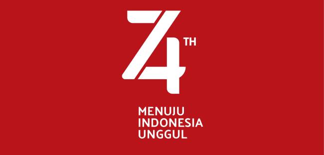 Download Tema dan Logo HUT Kemerdekaan RI ke-74 Tahun 2019