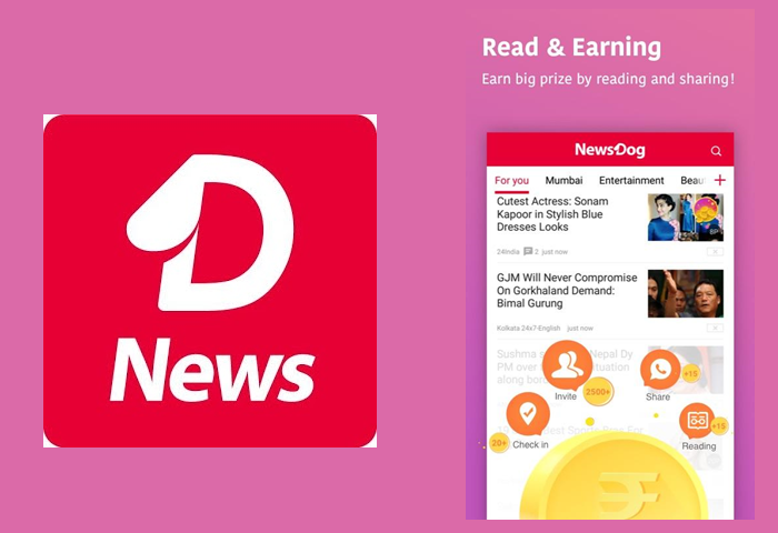 Read News and Earn Paytm cash from NewsDog