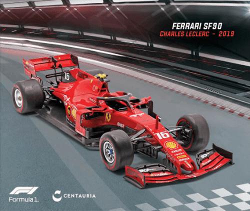 LE GRANDI FORMULA 1 FERRARI SF90 2019 CHARLES LECLERC