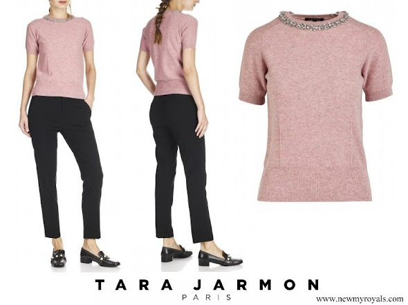 Princess Marie wore TARA JARMON top