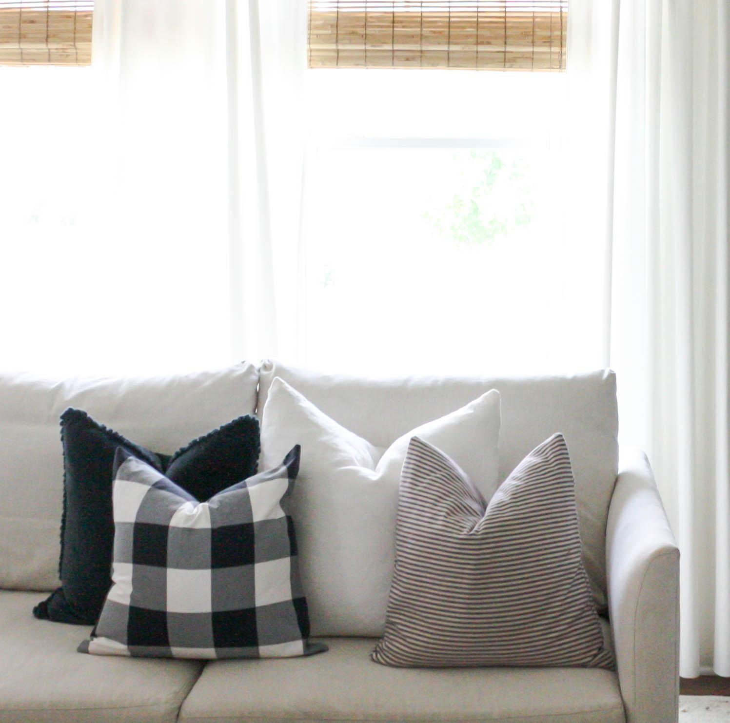 buffalo check sofa cover boconcept zen sleeper and ikea house seven design 43build