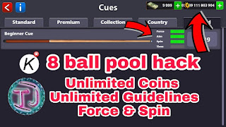 8 ball pool hack stick and table