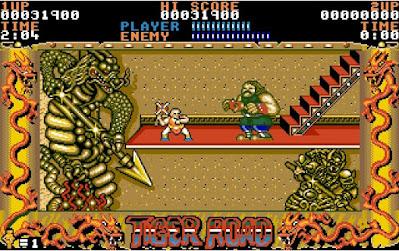 Tiger Road - versión Amiga