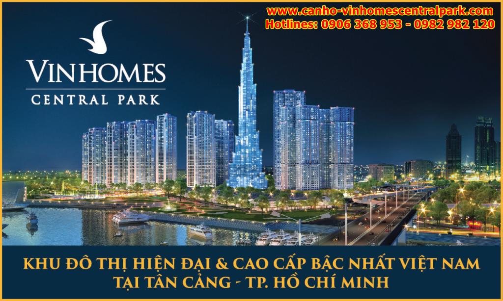 Căn hộ cao cấp Vinhomes Central Park Tân Cảng HCM | Can ho cao cap Vinhomes Central Park Tan Cang HCM