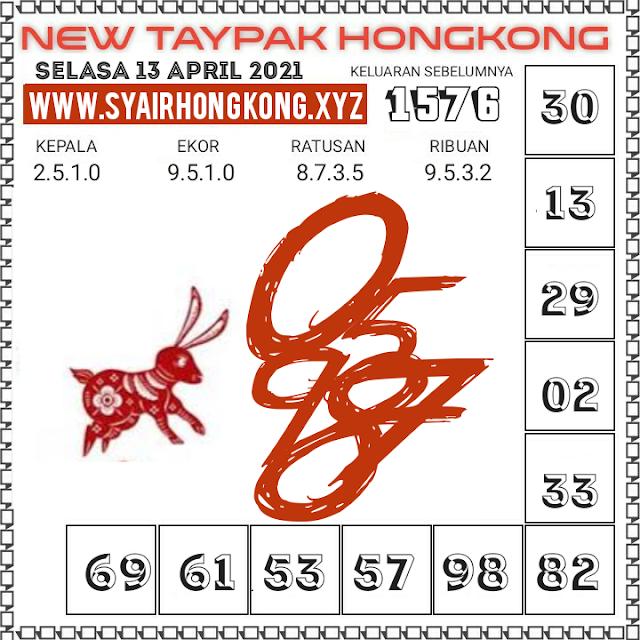 Syair HK Taypak 13 April 2021