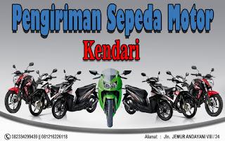 EKSPEDISI PENGIRIMAN MOTOR SURABAYA KENDARI