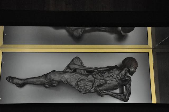 Człowiek z Grauballe - mumia z duńskiego bagna z epoki żelaza
