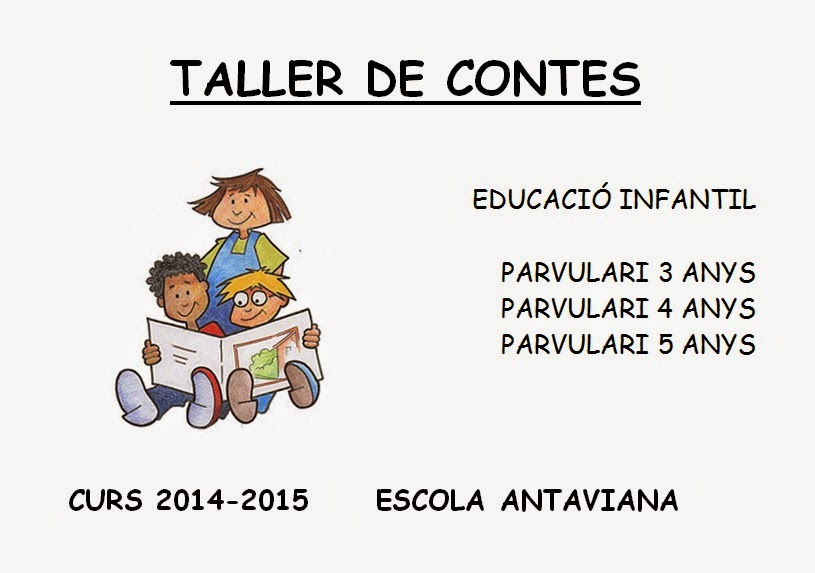 http://issuu.com/blocsdantaviana/docs/taller_contes_2014-15