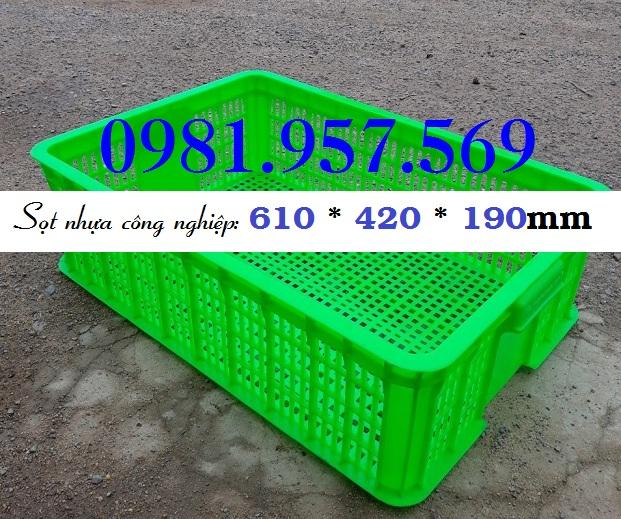 Sóng nhựa công nghiệp 1T9, sóng rỗng đụng hàng cao 19cm