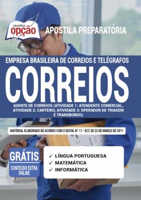Apostila Concurso Correios 2021 PDF Edital Online Inscrições